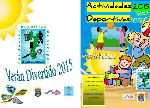 Verán divertido 2015 – Inscrición ás actividades (de 3 a 6 anos)