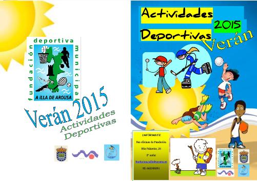 VERÁN DEPORTIVO 2015 – Inscrición ás actividades (de + 6 anos)