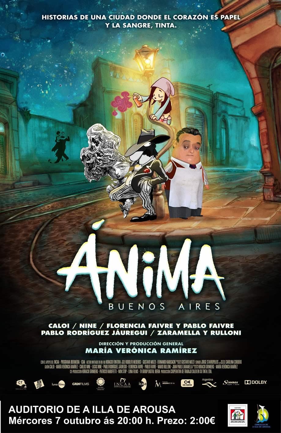 Cine Infantil no Auditorio