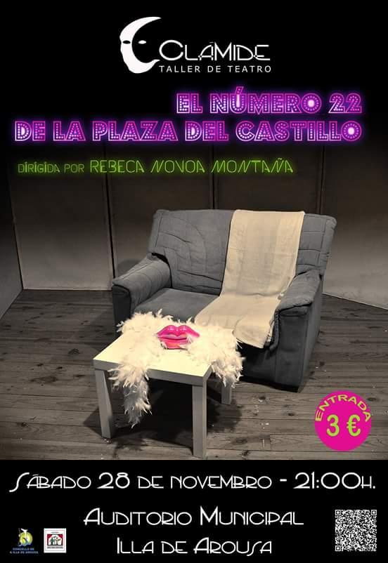 """Representación da obra teatral: """"El número 22 de la plaza del Castillo"""""""