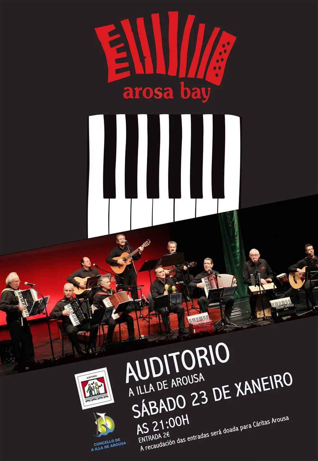 "CONCERTO DO GRUPO DE ACORDEÓNS E VOCES ""AROSA BAY"""