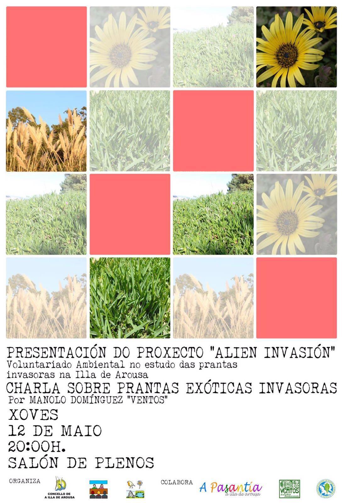"""PRESENTACIÓN DO PROXECTO """"ALIEN INVASIÓN"""" E CHARLA SOBRE PRANTAS EXÓTICAS INVASORAS"""