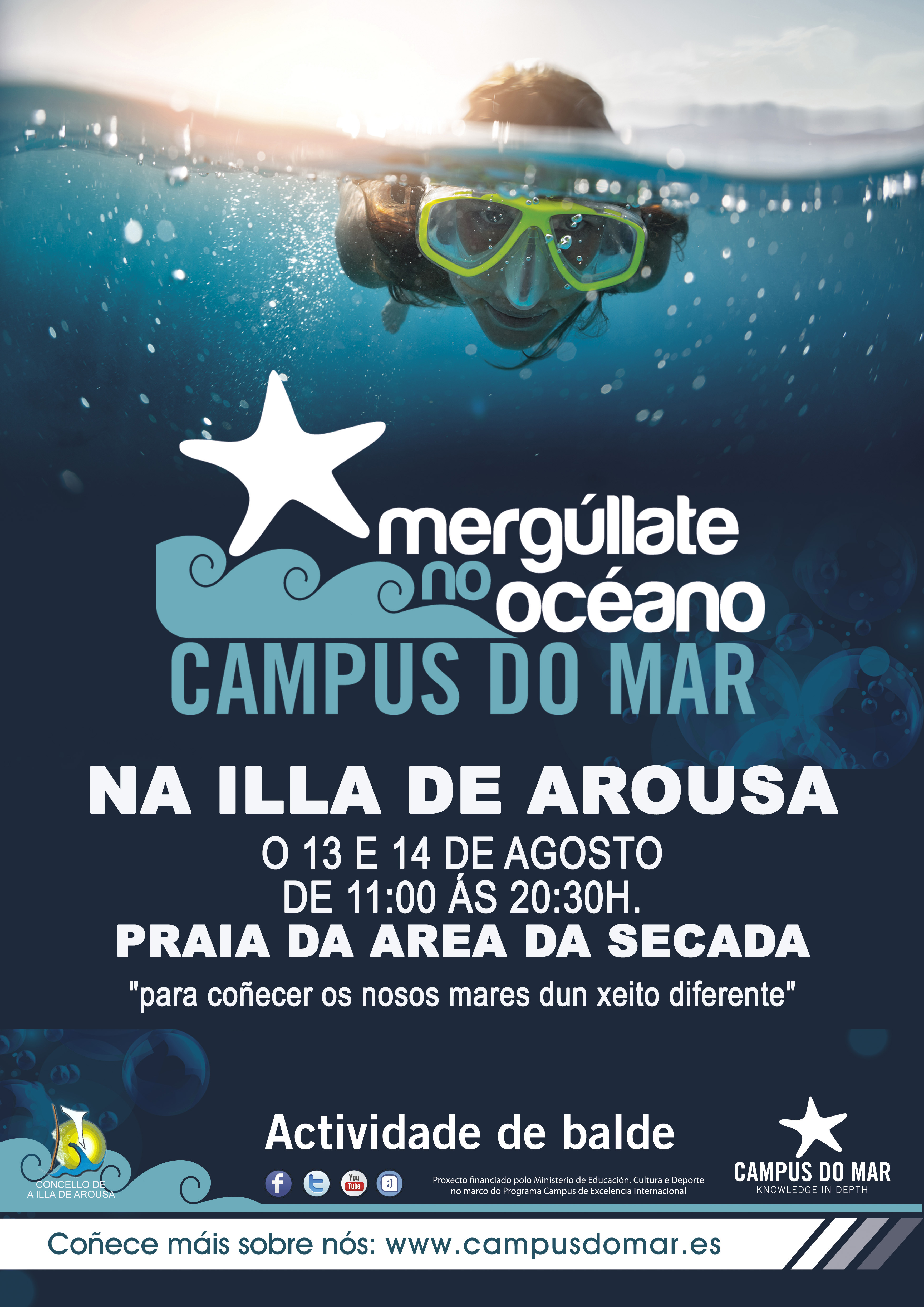 MERGÚLLATE NO OCÉANO – CAMPUS DO MAR