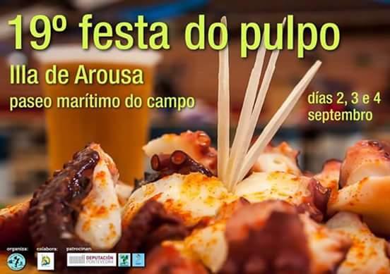 XIX FESTA DO PULPO-A ILLA DE AROUSA