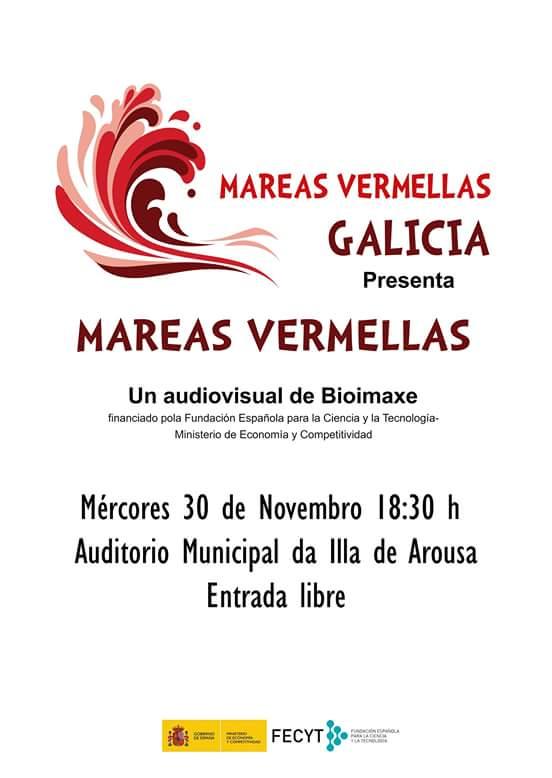 """PROXECCIÓN DO AUDIOVISUAL """"MAREAS VERMELLAS"""""""