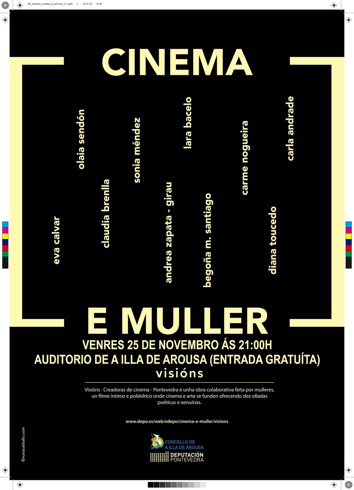 """""""CINEMA E MULLER"""" VISIÓNS"""