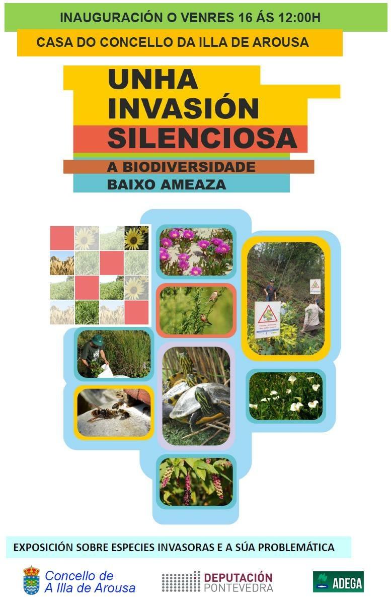 """""""UNHA INAVASIÓN SILENCIOSA"""" Exposición sobre especies invasoras e a súa problemática"""