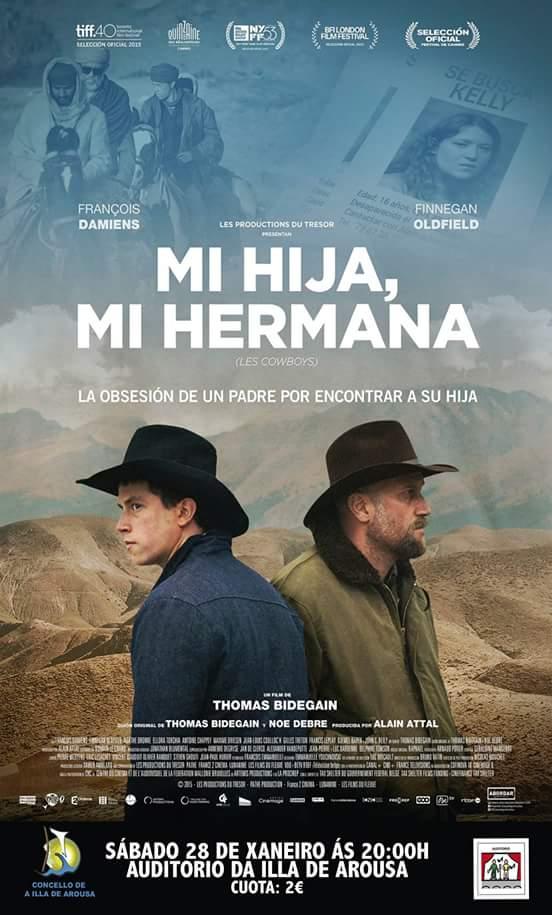 "Proxección do filme ""MI HIJA, MI HERMANA"""