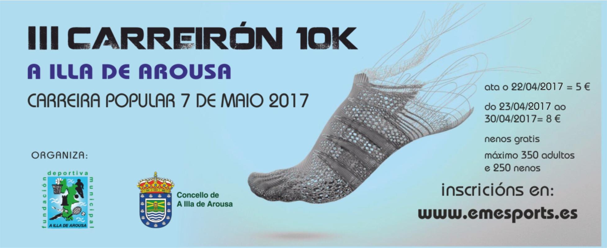 APERTURA INSCRICIÓNS DO CARREIRÓN 10K
