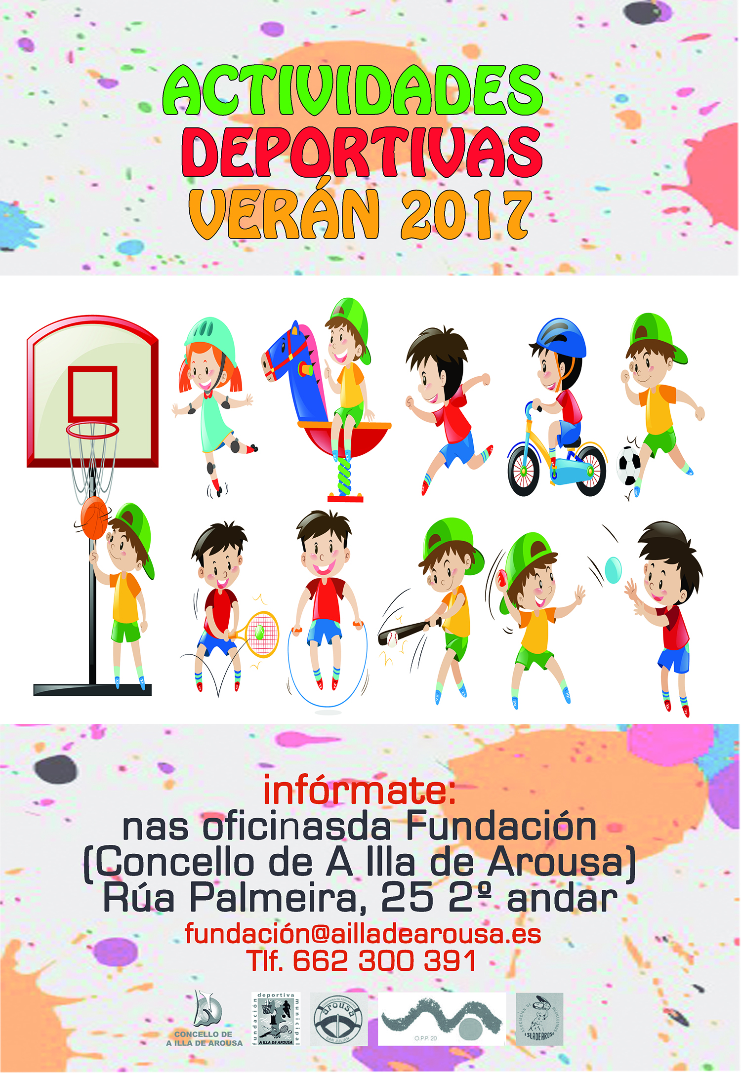 Inscricións actividades deportivas verán