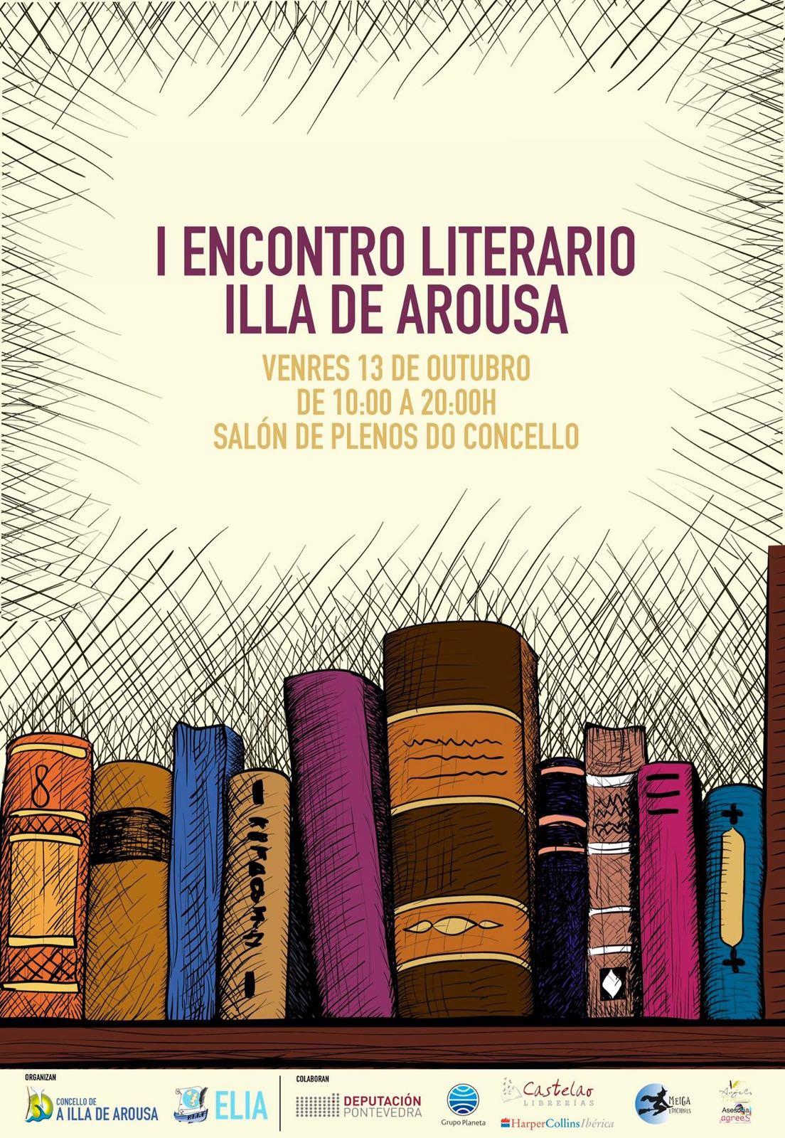 I ENCONTRO LITERARIO A ILLA DE AROUSA