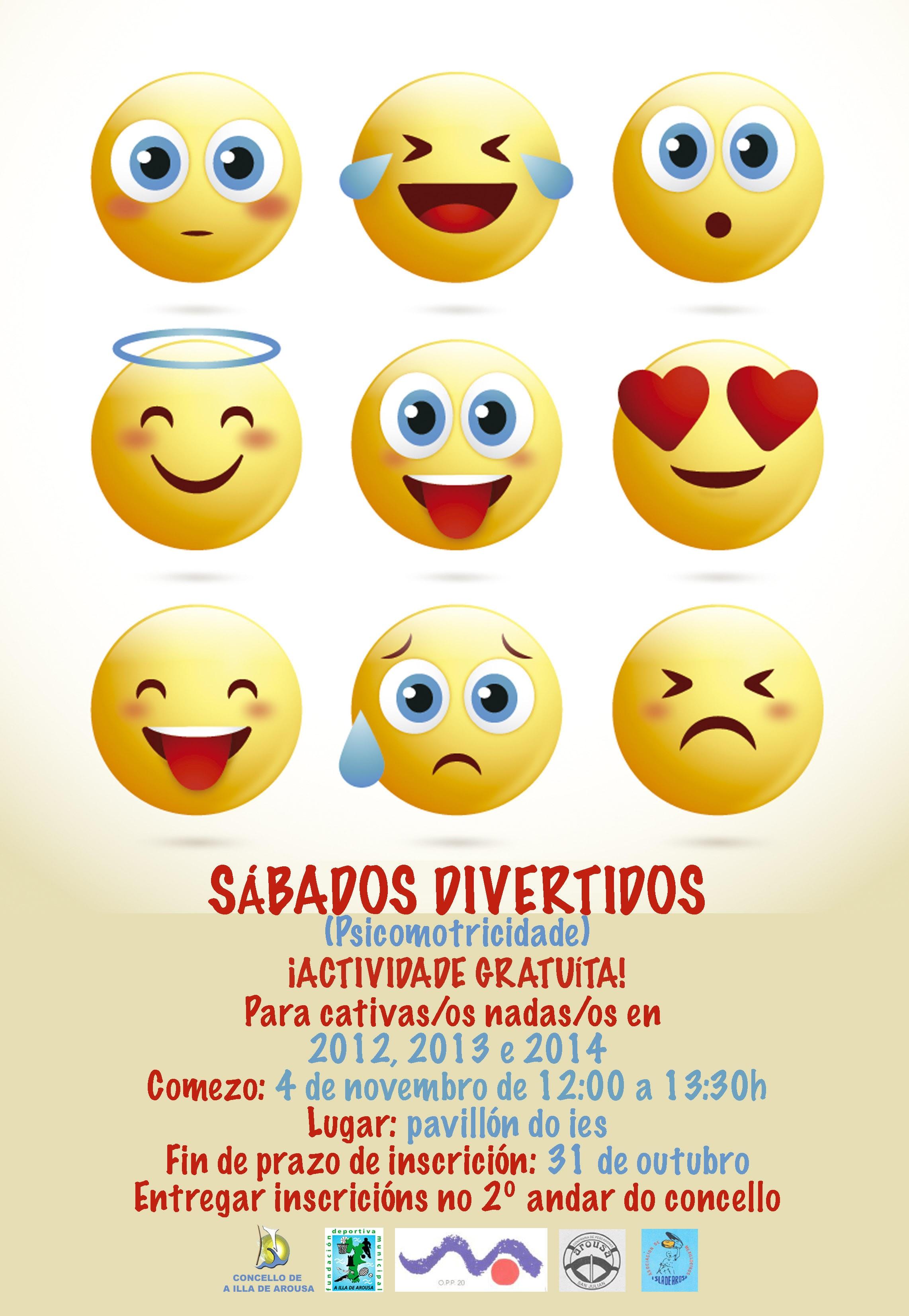SÁBADOS DIVERTIDOS (PSICOMOTRICIDADE)