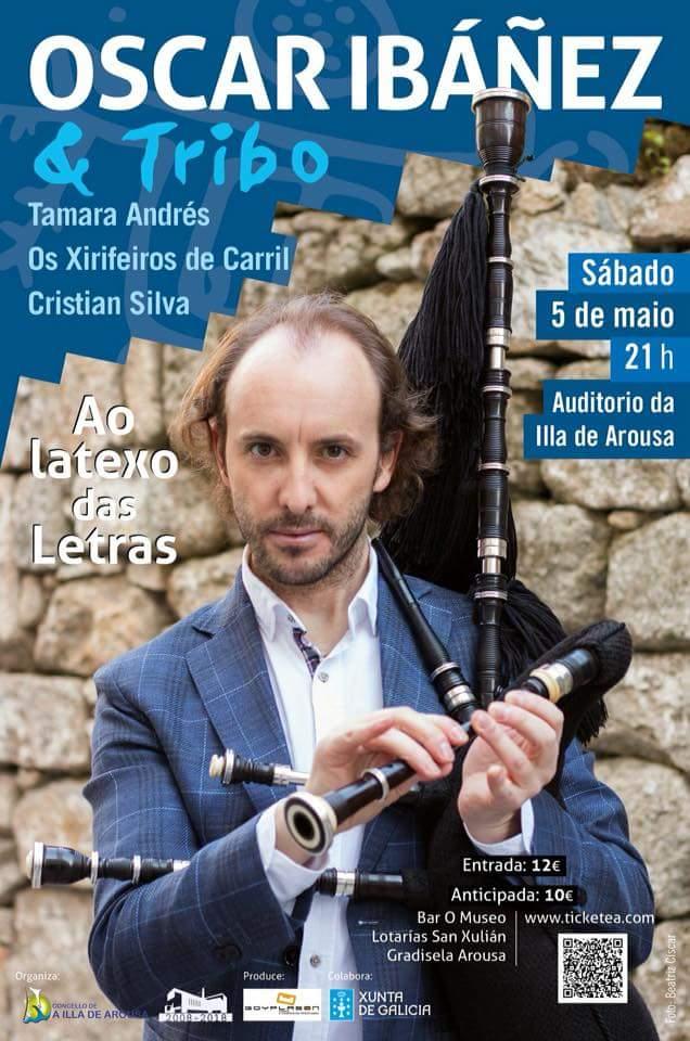 ÓSCAR IBAÑEZ & TRIBO – AO LATEXO DAS LETRAS