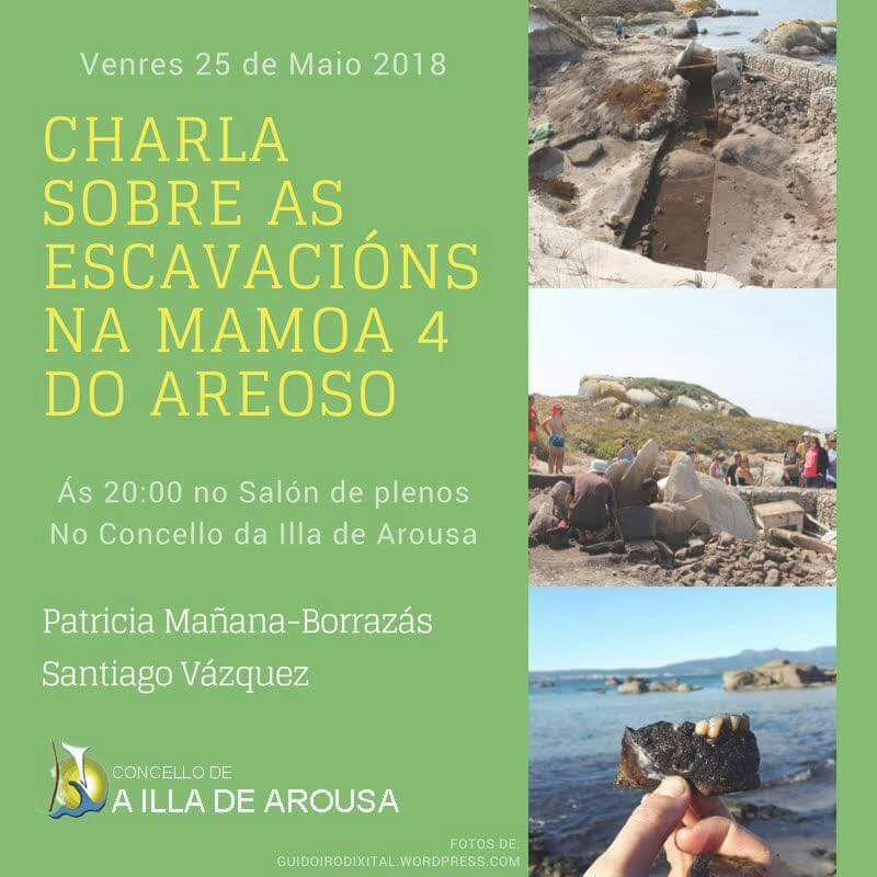 CHARLA SOBRE AS ESCAVACIÓNS NA MÁMOA 4 DO AREOSO