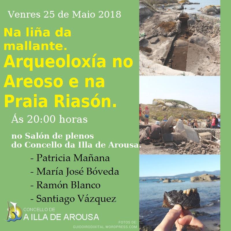 ARQUEOLOXÍA NO AREOSO E NA PRAIA RIASÓN – COLOQUIO