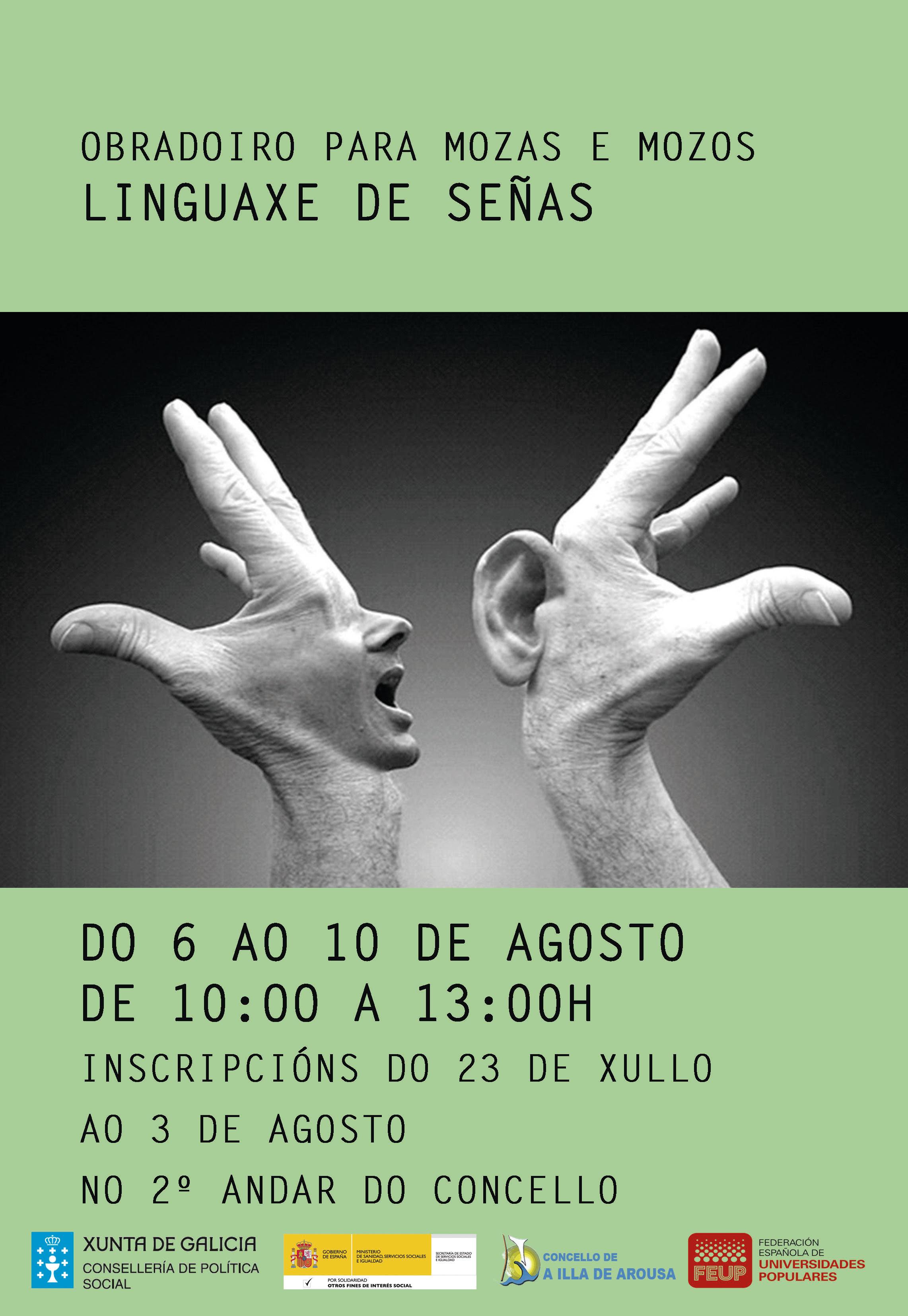 OBRADOIRO LINGUAXE DE SEÑAS
