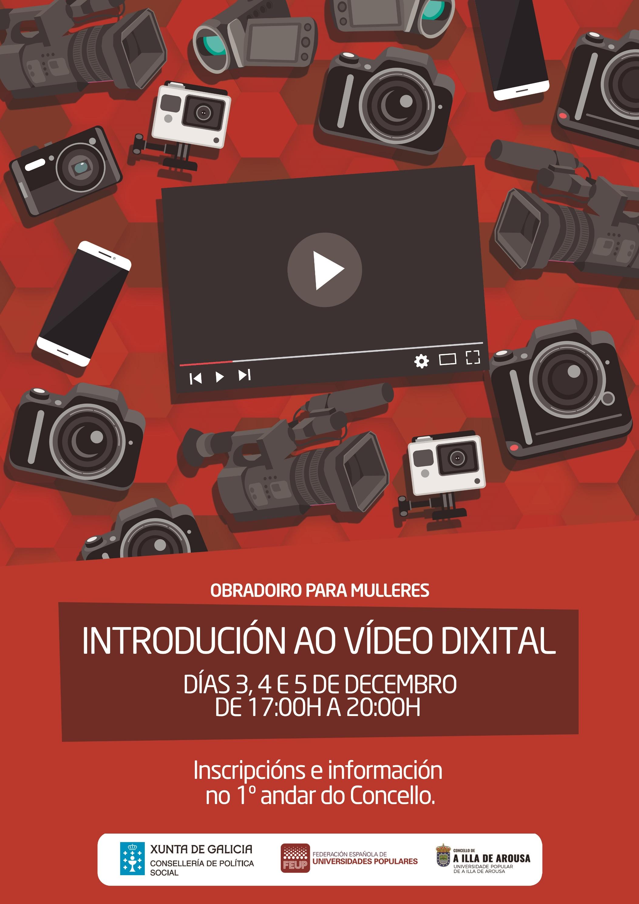 OBRADOIRO PARA MULLERES: INTRODUCCIÓN AO VÍDEO DIXITAL