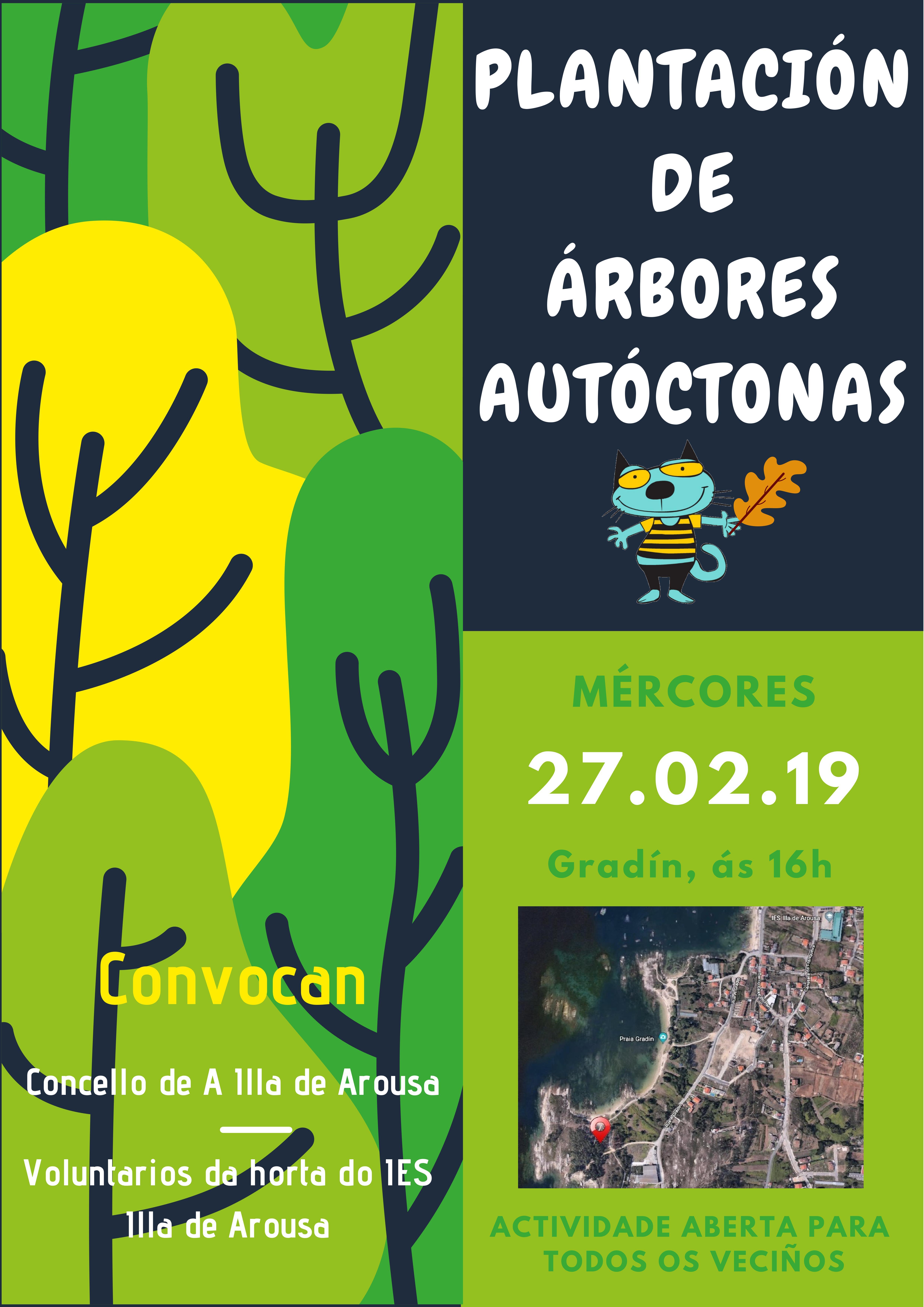 Plantación de Árbores Autoctonas