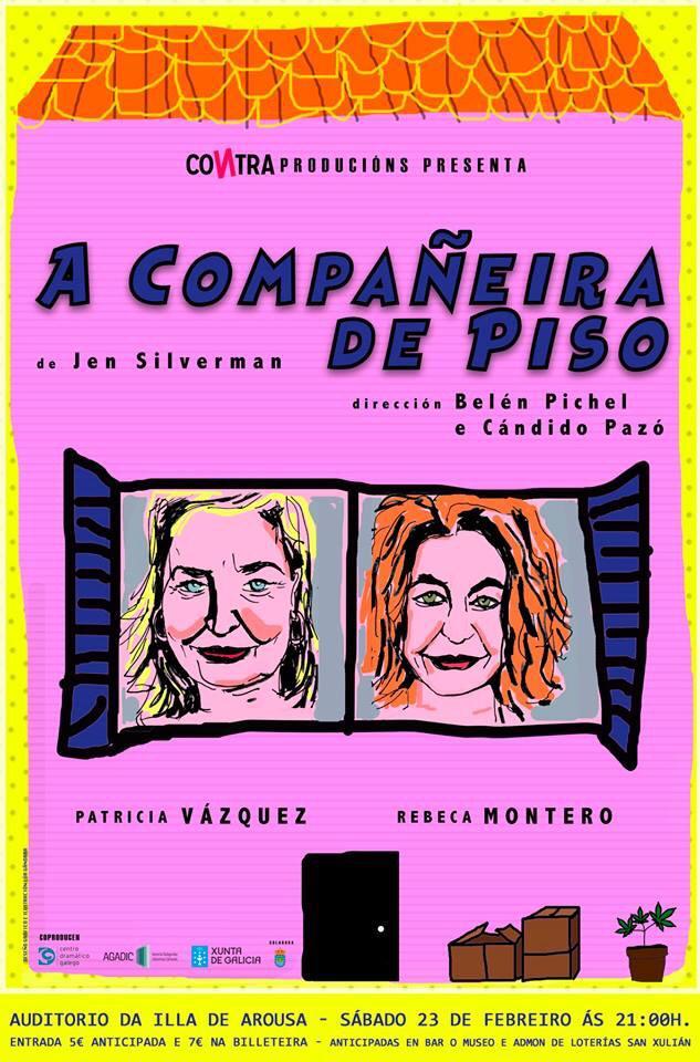 """TEATRO: """"A COMPAÑEIRA DE PISO"""""""