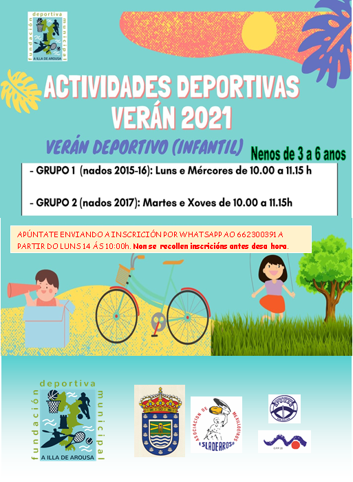ACTIVIDADES VERÁN DIVERTIDO 2021